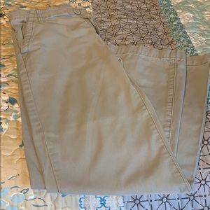 Crazy 8 Boy's Size 12 Khaki Pants
